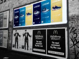 Guerrilla Media Street Posters